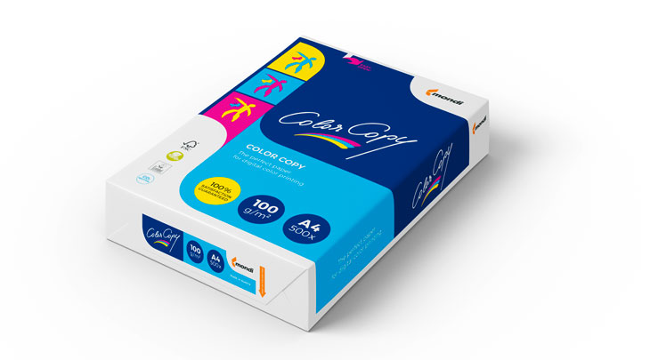 laying packaging MONDI Color Copy