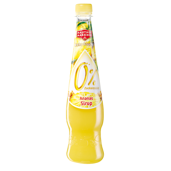 Mautner Markhof _0%sirup_ananas